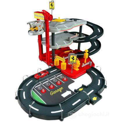 Race & Play Ferrari Parking Garage 1:43