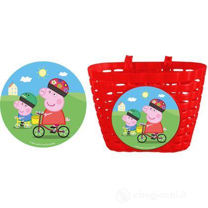Cestino Bici Peppa Pig (70204)
