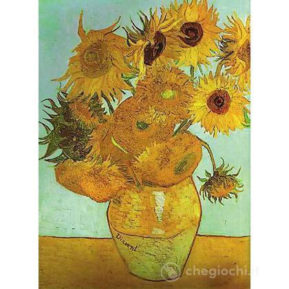 Van Gogh: Vaso con girasoli