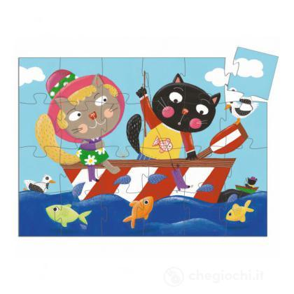 Meow and the funny fish-24 pezzi