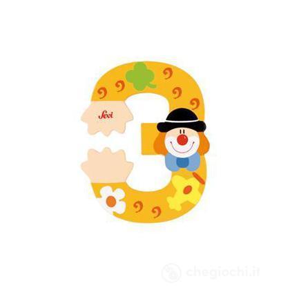Numero 3 Clown