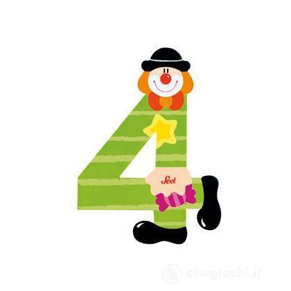 Numero 4 Clown