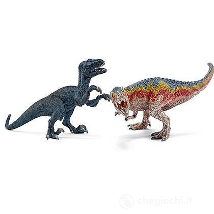 Tirannosauro e Velociraptor piccoli (42216)