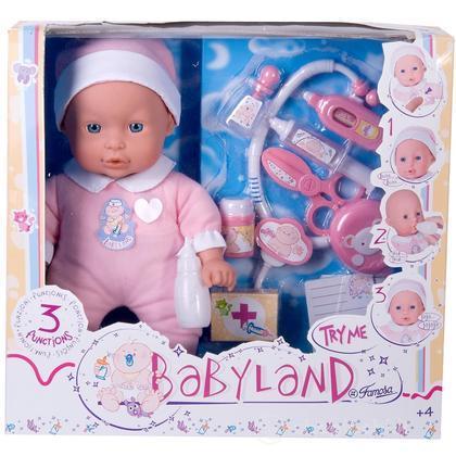 Babyland. Bambola 32 Cm Dottore (700008219)