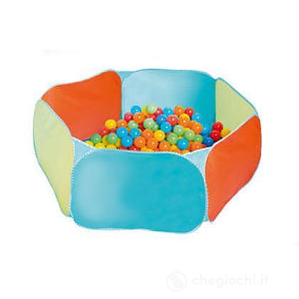 Piscina palline esagonale casette roba giocattoli for Piscina montabile