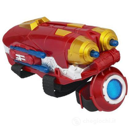 Iron Man arma Tri power Repulsor. Avengers