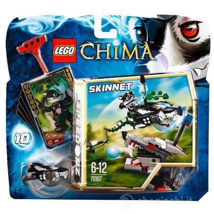 L'attacco della puzzola - Lego Legends of Chima (70107)