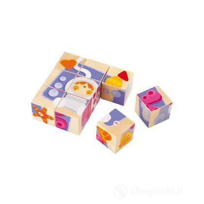 Cubetti puzzle mare