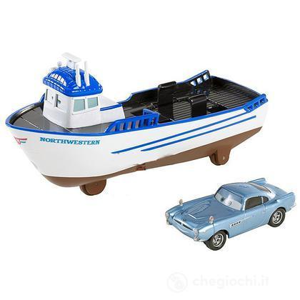 Crabby il motoscafo Cars 2 Deluxe (X0623)