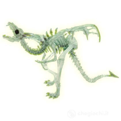 Drago scheletro fosforescente