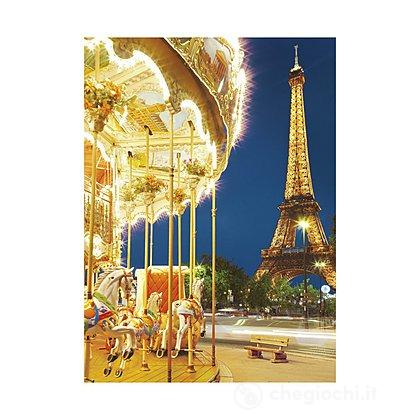 Le carousel, Paris 1000 pezzi High Quality Collection (39228)