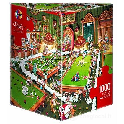 Puzzle 1000 Pezzi Triangolare - Biliardo