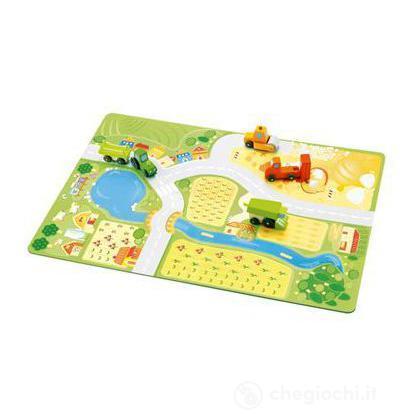 Play set treno - La fattoria