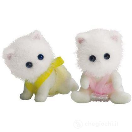 Gemelli gatto persiano (senza accessori) (3233)