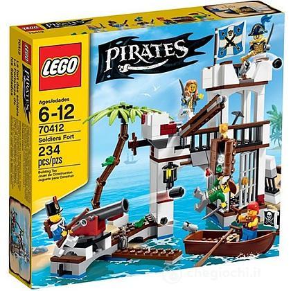 Il forte dei soldati - Lego Pirates (70412)
