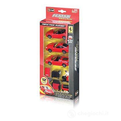 Ferrari Race & Play - Trio Pack 1:43 (18-31236)