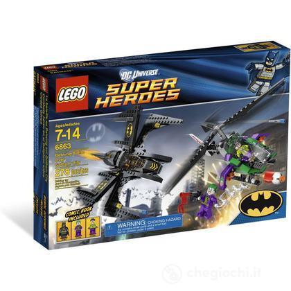 LEGO Super Heroes - Bat-Aereo sopra Gotham City (6863)