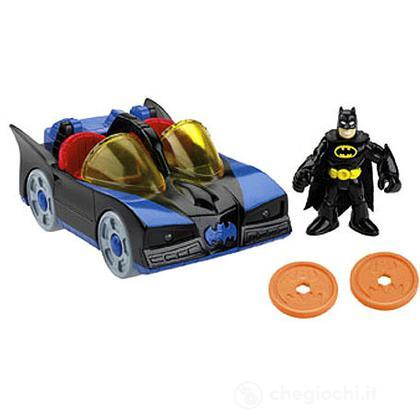 DC Super Friends - Batmobile con luci (W8529)