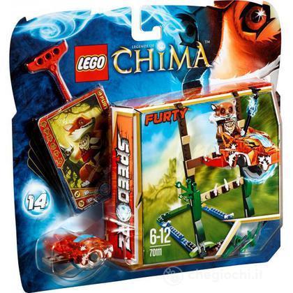 Salto nella palude - Lego Legends of Chima (70111)