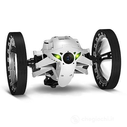 Drone Jumping Sumo Bianco e Nero con fotocamera