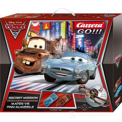 Pista Carrera GO!!! Cars 2 Secret Mission