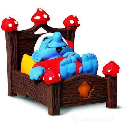 Puffo a letto (40240)