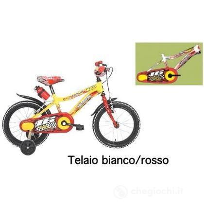 """Bici 16"""" Artemis White/Red"""