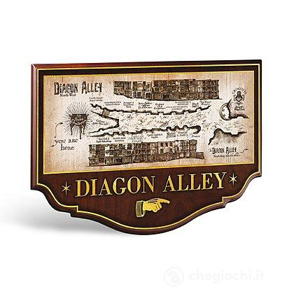 Harry Potter: Placca Murale Diagon Alley (NN7058)