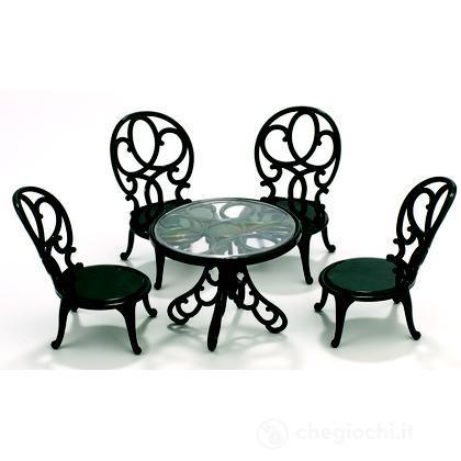 Tavolo e sedie da giardino (2242)