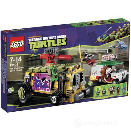 L'inseguimento stradale dello Shellriser - Lego Teenage Mutant Ninja Turtles (79104)