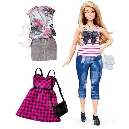 Barbie Fashionistas curvy con abiti (DTF00)