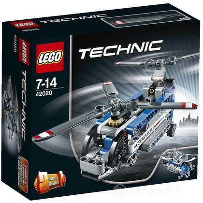 Elicottero Bi-rotore - Lego Technic (42020)