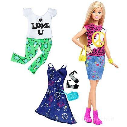 Barbie Fashionistas con abiti (DTD98)