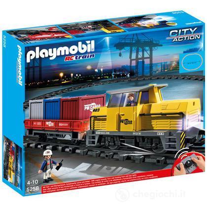 Trenino trasportatore rc con luci e suoni (5258)