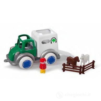 Jumbo camion con  accessori - trasporto cavalli