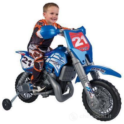 Moto Febercross X  6 V.  Con Casco