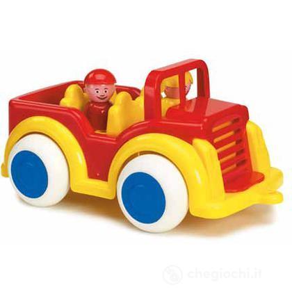 Jumbo camion con  accessori - jeep con 2 personaggi