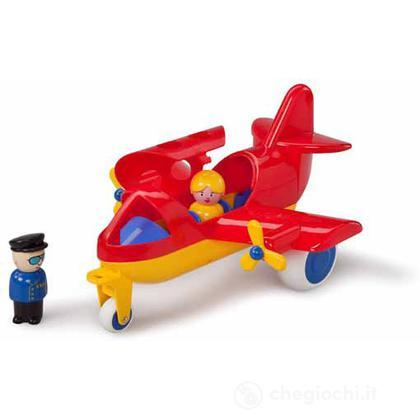 Jumbo aerei - aereo con 2 personaggi