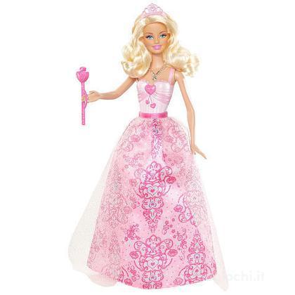 Barbie principessa al party - Barbie abito rosa chiaro (W2856)