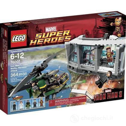 Iron Man attacco alla residenza di Mandarino - Lego Super Heroes (76007)