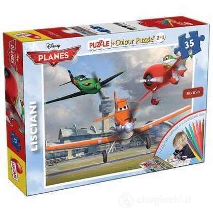 Planes Puzzle Color Plus, 35 Pezzi