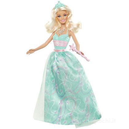 Barbie principessa al party - Barbie abito turchese (W2860)