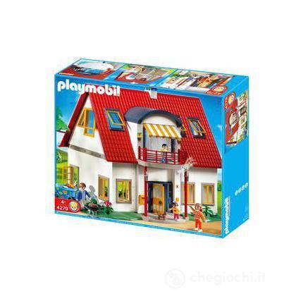 Nuova casa moderna 4279 prima infanzia playmobil for Casa moderna playmobil
