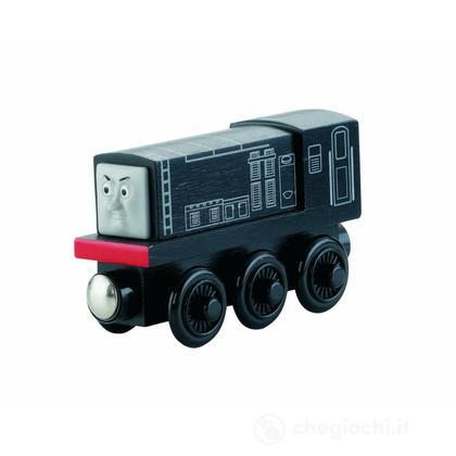 Veicolo Diesel Small - Wooden Railway (Y4079)