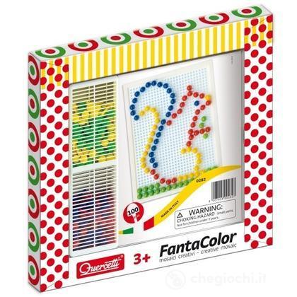 Cornice Fantacolor Small - 100 chiodini diametro 10 mm lavagnetta piccola (0282)