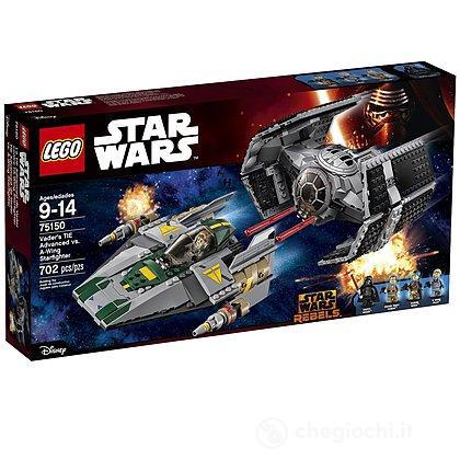 TIE Advanced di Vader contro A-Wing Star - Lego Star Wars (75150)
