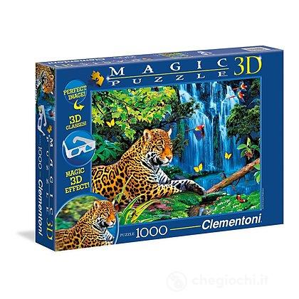 Jaguar jungle 1000 pezzi MagicPuzzle 3D (39284)