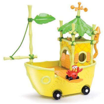In giro per la giungla - Barca di Granchio taxi (9284)