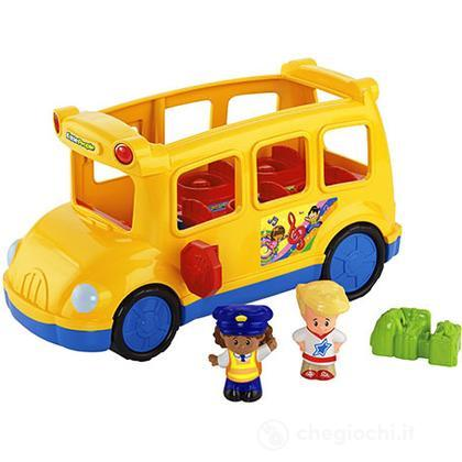 Scuola Bus Grandi Veicoli Little People  (BJT49)