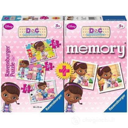 Memory + 3 puzzle Dott.ssa Peluche
